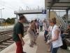 Clogging am Bahnhof